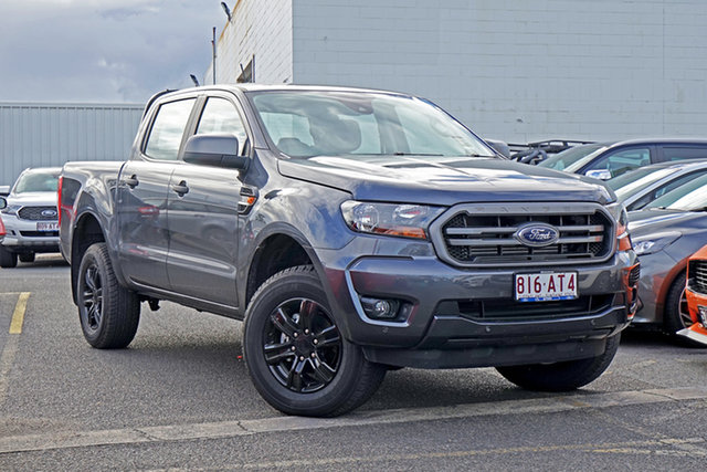 Used Ford Ranger PX MkIII 2021.25MY XLS Springwood, 2020 Ford Ranger PX MkIII 2021.25MY XLS Grey 6 Speed Sports Automatic Double Cab Pick Up