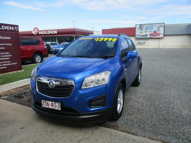 Used Holden Trax TJ MY14 LS North Rockhampton, 2014 Holden Trax TJ MY14 LS Blue 5 Speed Manual Wagon