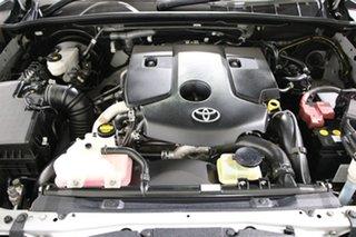 2016 Toyota Hilux GUN126R SR (4x4) Silver 6 Speed Automatic Dual Cab Utility