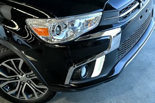 2018 Mitsubishi ASX XC MY18 LS 2WD Black 1 Speed Constant Variable Wagon.