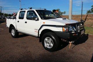 2011 Nissan Navara D22 S5 ST-R White Nova 5 Speed Manual Utility.