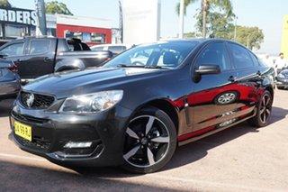 2016 Holden Commodore Vfii MY16 SV6 Black Edition Black 6 Speed Automatic Sedan.