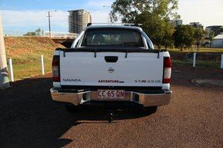 2011 Nissan Navara D22 S5 ST-R White Nova 5 Speed Manual Utility