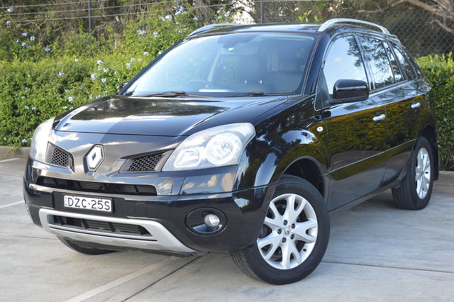 Used Renault Koleos H45 MY11 Dynamique Maitland, 2011 Renault Koleos H45 MY11 Dynamique Black 1 Speed Constant Variable Wagon