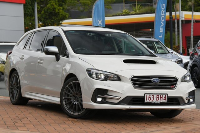 Used Subaru Levorg V1 MY18 2.0 STI Sport CVT AWD Newstead, 2018 Subaru Levorg V1 MY18 2.0 STI Sport CVT AWD White 8 Speed Constant Variable Wagon