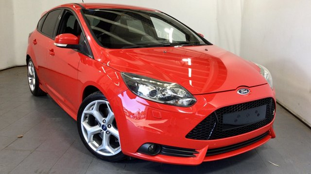 Used Ford Focus LW MkII ST Elizabeth, 2013 Ford Focus LW MkII ST Red/Black 6 Speed Manual Hatchback