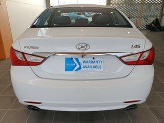 2011 Hyundai i45 YF MY11 Active White 6 Speed Sports Automatic Sedan