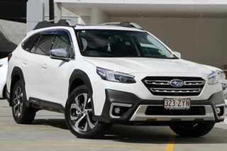 2020 Subaru Outback B7A MY21 AWD Touring CVT White Crystal 8 Speed Constant Variable Wagon.