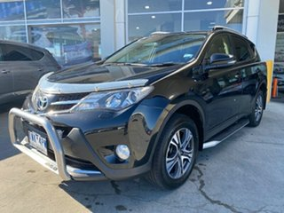 2013 Toyota RAV4 ALA49R Cruiser AWD Black 6 Speed Sports Automatic Wagon