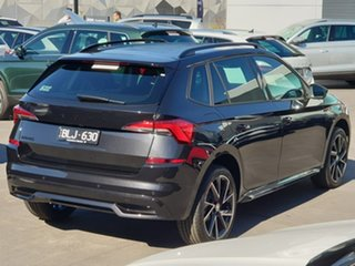 2020 Skoda Kamiq NW MY21 110TSI DSG FWD Monte Carlo Black 7 Speed Sports Automatic Dual Clutch Wagon