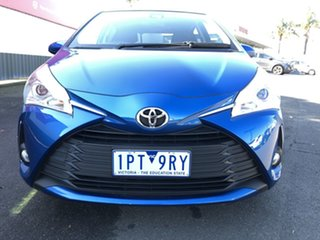 2019 Toyota Yaris NCP131R ZR Tidal Blue 4 Speed Automatic Hatchback