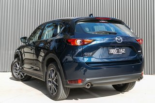 2021 Mazda CX-5 KF4WLA GT SKYACTIV-Drive i-ACTIV AWD Deep Crystal Blue 6 Speed Sports Automatic