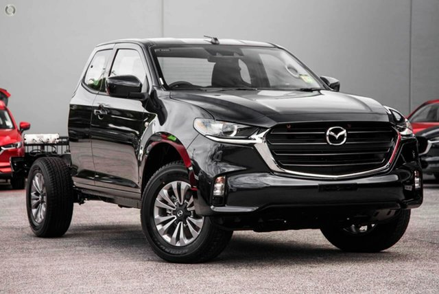 New Mazda BT-50 TFS40J XT Freestyle Waitara, 2021 Mazda BT-50 TFS40J XT Freestyle Blue 6 Speed Sports Automatic Cab Chassis