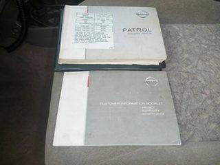 2004 Nissan Patrol GU II ST White 5 Speed Manual Cab Chassis.