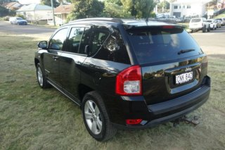 2012 Jeep Compass MK MY13 Sport CVT Auto Stick Black 6 Speed Constant Variable Wagon