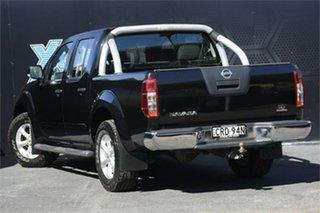 2014 Nissan Navara D40 S7 ST 4x2 Black 6 Speed Manual Utility