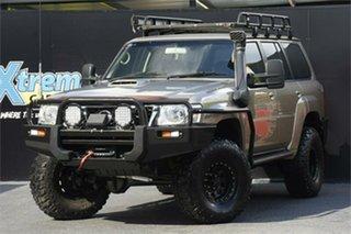 2007 Nissan Patrol GU IV MY06 ST Gold 5 Speed Manual Wagon.
