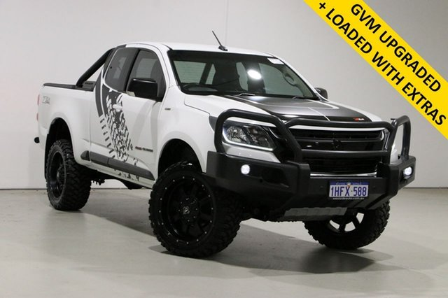 Used Holden Colorado RG MY17 LS (4x4) Bentley, 2017 Holden Colorado RG MY17 LS (4x4) White 6 Speed Automatic Space Cab Chassis