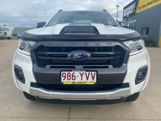 2019 Ford Ranger PX MkIII 2019.00MY Wildtrak White/170619 10 Speed Sports Automatic