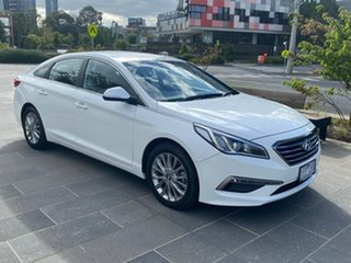 2015 Hyundai Sonata LF Active White 6 Speed Sports Automatic Sedan