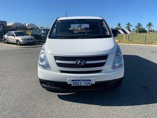 2010 Hyundai iLOAD TQ White 5 Speed Manual Van.