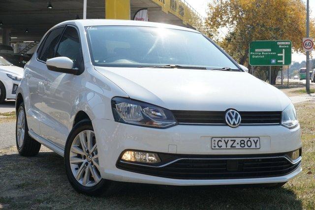Used Volkswagen Polo 6R MY15 81TSI Comfortline Phillip, 2015 Volkswagen Polo 6R MY15 81TSI Comfortline White 6 Speed Manual Hatchback