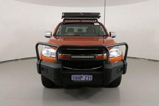 2015 Holden Colorado RG MY15 LTZ Storm (4x4) Orange 6 Speed Manual Crew Cab Pickup.