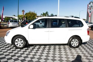 2010 Kia Grand Carnival VQ EXE White 5 Speed Sports Automatic Wagon