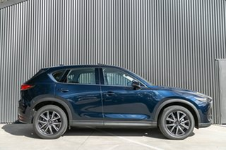 2021 Mazda CX-5 KF4WLA GT SKYACTIV-Drive i-ACTIV AWD Deep Crystal Blue 6 Speed Sports Automatic.