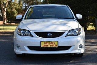 2008 Subaru Impreza G3 MY09 RS AWD White 4 Speed Sports Automatic Sedan.
