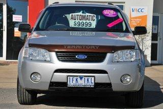 2005 Ford Territory SX TS (RWD) Silver 4 Speed Auto Seq Sportshift Wagon.