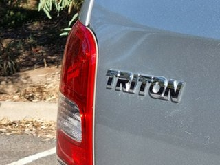 2017 Mitsubishi Triton MQ MY17 GLX+ Double Cab Sterling Silver 6 Speed Manual Utility