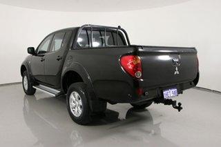 2014 Mitsubishi Triton MN MY14 Update GLX Black 4 Speed Automatic Double Cab Utility