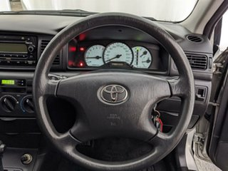 2004 Toyota Corolla ZZE122R Ascent Silver 4 Speed Automatic Hatchback