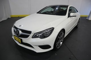 2015 Mercedes-Benz E-Class C207 806MY E250 CDI 7G-Tronic + White 7 Speed Sports Automatic Coupe