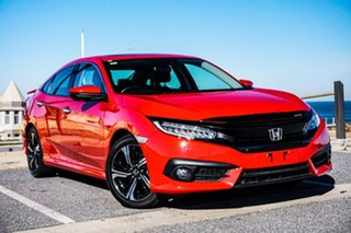 2016 Honda Civic 10th Gen MY16 RS Red 1 Speed Constant Variable Sedan.