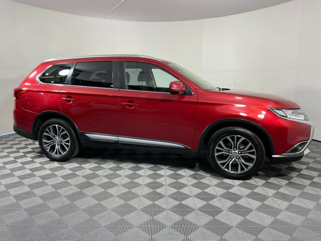 Used Mitsubishi Outlander ZK MY17 LS 2WD Wayville, 2016 Mitsubishi Outlander ZK MY17 LS 2WD Red 6 Speed Constant Variable Wagon