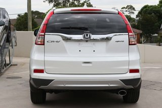 2017 Honda CR-V RM Series II MY17 VTi-L 4WD White 5 Speed Sports Automatic Wagon