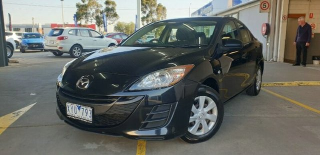 Used Mazda 3 BL10F1 Neo Activematic Melton, 2010 Mazda 3 BL10F1 Neo Activematic Black 5 Speed Sports Automatic Sedan