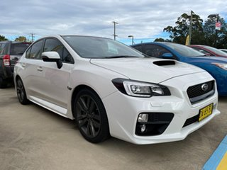 2016 Subaru WRX V1 MY16 Premium AWD White 6 Speed Manual Sedan.