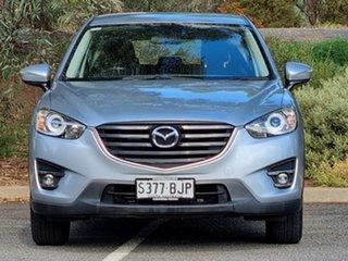 2015 Mazda CX-5 KE1072 Maxx SKYACTIV-Drive Sport Sonic Silver 6 Speed Sports Automatic Wagon.