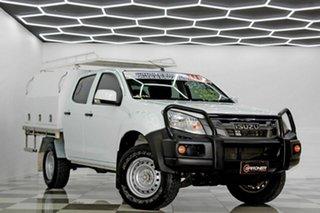2016 Isuzu D-MAX TF MY15.5 SX HI-Ride (4x2) White 5 Speed Automatic Crew Cab Chassis.