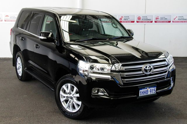 Pre-Owned Toyota Landcruiser VDJ200R VX Myaree, 2019 Toyota Landcruiser VDJ200R VX Eclipse Black 6 Speed Sports Automatic Wagon
