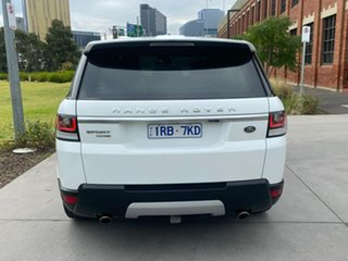 2015 Land Rover Range Rover Sport L494 16MY HSE White 8 Speed Sports Automatic Wagon.