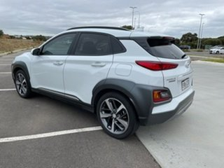 2020 Hyundai Kona OS.3 MY20 Highlander 2WD White 6 Speed Sports Automatic Wagon