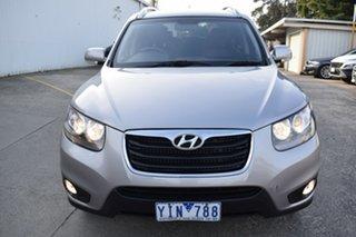 2011 Hyundai Santa Fe CM MY11 Highlander Billet Silver 6 Speed Sports Automatic Wagon.