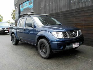 2011 Nissan Navara D40 MY11 RX 4x2 Blue 6 Speed Manual Utility.