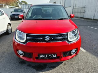 2017 Suzuki Ignis MF GLX Red 1 Speed Constant Variable Hatchback.