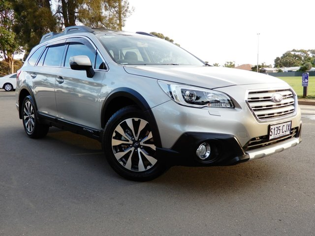 Used Subaru Outback B6A MY15 2.0D CVT AWD Premium Glenelg, 2015 Subaru Outback B6A MY15 2.0D CVT AWD Premium Tungsten 7 Speed Constant Variable Wagon