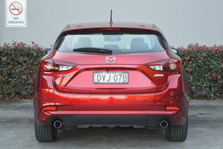 2018 Mazda 3 BN5438 SP25 SKYACTIV-Drive Red 6 Speed Sports Automatic Hatchback